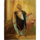 Ira Aldridge as Othello in 'Othello' by William Shakespeare (Painting)