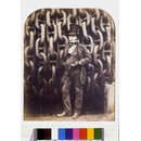 Isambard Kingdom Brunel and the launching chains of the Great Eastern (Photograph)