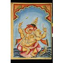 Ganesha the remover of obstacles (Painting)