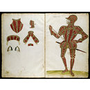 The Almain Armourer's Album; The Jacob Album; 'My Lorde Bucarte' (Armour design)