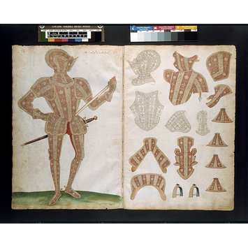 Armour design - The Almain Armourer's Album; The Jacob Album; 'The Earle of Cumberland'