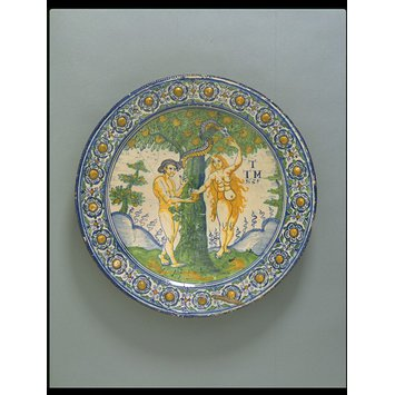 Dish - The Temptation of Adam and Eve