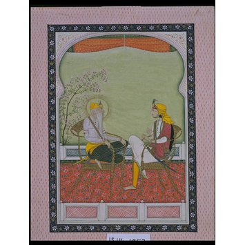 Painting - Ranjit Singh with Hira Singh