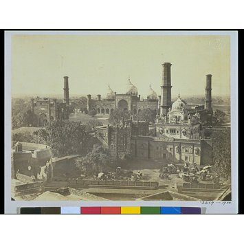 Photograph - Ranjit Singh's tomb from the top of Ranjit Singh's palace, Lahore