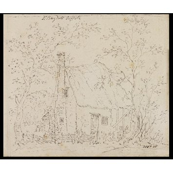 Drawing - Cottage at East Bergholt