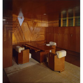 Panelled room - Frank Lloyd Wright Room; Kaufmann Office