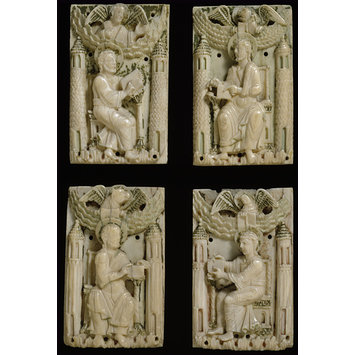 Plaque - The four Evangelists