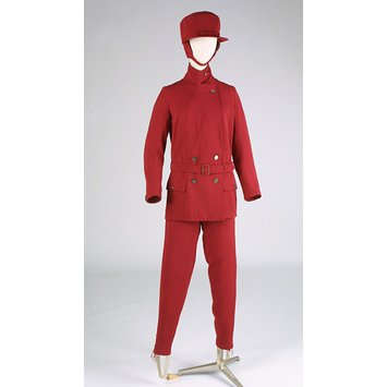 Ski suit ensemble