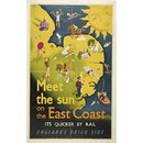 Meet the sun on the East Coast (Poster)