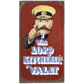 Painting - I Was Lord Kitchener's Valet; Carnaby Street Shop Sign
