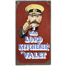I Was Lord Kitchener's Valet; Carnaby Street Shop Sign (Painting)