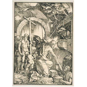 Print - The Harrowing of Hell; The Large Passion; Descent into Limbo