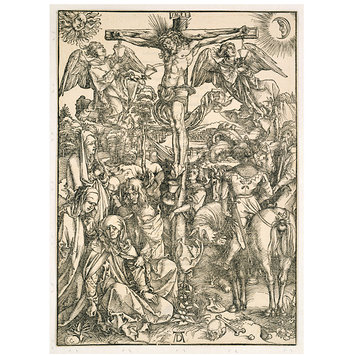 Print - The Crucifixion; The Large Passion