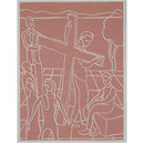 Stations of the Cross; Jesus takes up the Cross (Print)