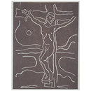 Stations of the Cross; The Crucifixion (Print)