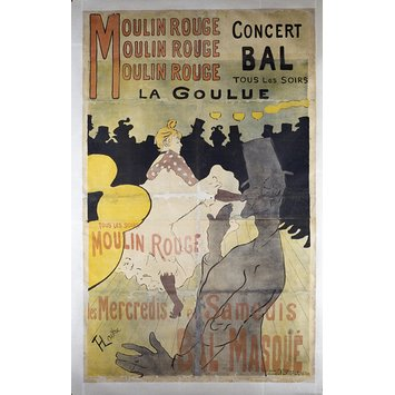 Poster - Moulin Rouge, La Goulue