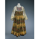 Kaftan Style Dress; Knitted Circle (Dress)