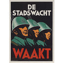 The Civic Guard Watches; De Stadswacht Waakt (Poster)