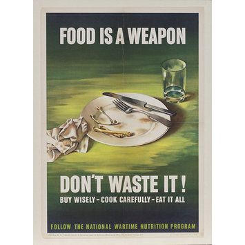 Poster - Food is a Weapon