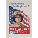 Are you a girl with a Star-Spangled heart? (Poster)