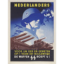 Nederlanders Voor Uw Eer En Geweten Op!; Netherlanders Up! For your Honour and Conscience... (Poster)