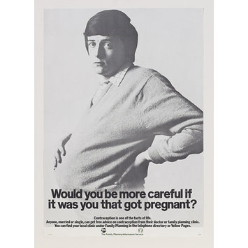Poster - Would you be more careful if it was you that got pregnant?