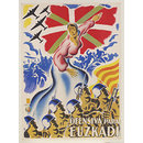 Ofensiva Para Euzkadi; Offensive for the Basque Country (Poster)