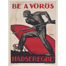 Be a Vörös Hadseregbe!; Join the Red Army! (Poster)