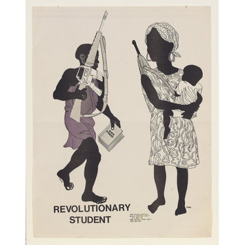 Poster - Revolutionary Student