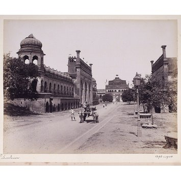 Photograph - View of Lucknow