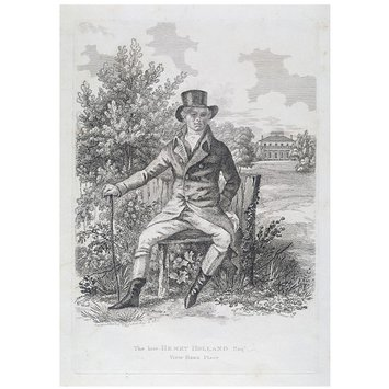 Print - The Late Henry Holland, Esq.