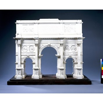 Architectural model - The Arch of Constantine