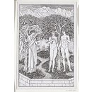 Golden Legend; Adam and Eve in Eden (Print)