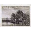 Print from Ionides Album; A river ferry (Print)