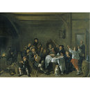 A Family Merrymaking (Oil painting)