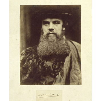 Photograph - William Holman Hunt RA in Venetian dress