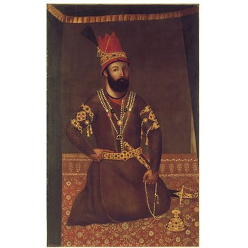 Painting - Portrait of Nadir Shah