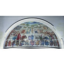 Proposed decoration of the semi-dome of the apse of the Lecture Theatre, Victoria and Albert Museum (Architectural model)