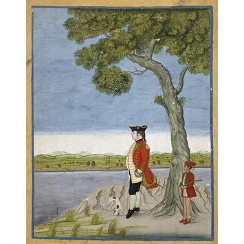 Painting - A military officer of the East India Company