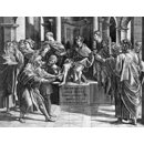 The Blinding of Elymas; Elymas the Sorcerer Struck Blind; Raphael Cartoons; The Conversion of the Proconsul; The Conversion of Sergius Paulus (Print)