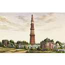 Sixty drawings of Mughal monuments and architectural details. (Architectural drawing)