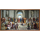 The School of Athens (after Raphael) (Oil painting)