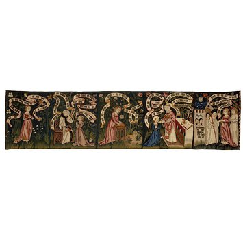 Tapestry panel - The Search After Truth