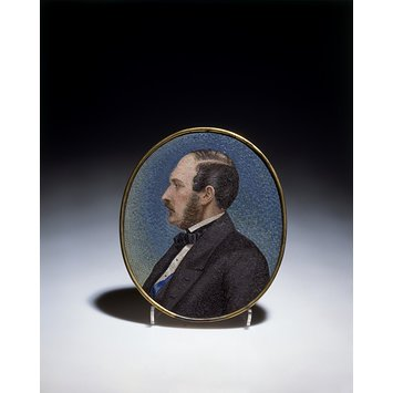 Medallion portrait - Prince Albert