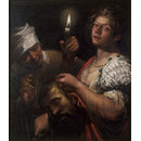 Judith Holding the Head of Holofernes (Oil painting)