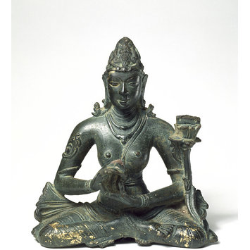 Sculpture - Prajnaparamita, the Perfection of Knowledge Goddess