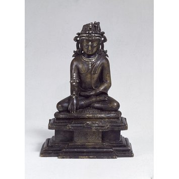 Sculpture - Crowned Buddha Shakyamuni