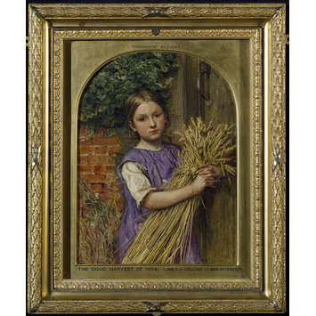Oil painting - The Good Harvest of 1854