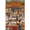 The Maharana of Mewar submitting to Prince Khurram (Painting)