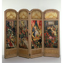 Allegories of the Arts (Folding screen)
